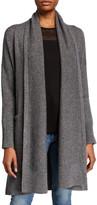 Co Wool-Cashmere Robe Cardigan