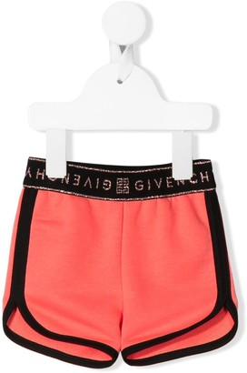 Givenchy Kids Logo Waistband Shorts