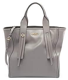 Prada Women's Grace Luxe Leather Shopper