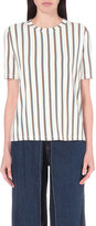 Aalto Stripe print jersey t-shirt