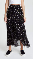 Sjyp Flower Printed Long Skirt