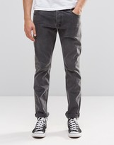 Weekday Wednesday Slim Jeans Black Soil