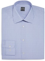 Ike Behar Overcheck Regular Fit Dress Shirt