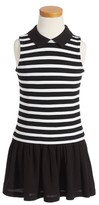 Kate Spade Toddler Girl's Stripe Sleeveless Dress