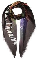 Balenciaga Souvenir San Sebastian silk-blend scarf