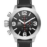 Danish Design Men's 48mm Steel Bracelet & Case Quartz Chronograph Watch IQ13Q916
