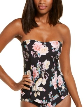 Becca Floral Print Tankini Top Women's Swimsuit