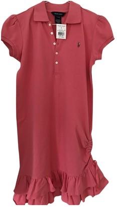 Ralph Lauren Pink Cotton Dresses