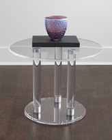 Horchow Anthony Acrylic Side Table