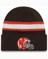 New Era Cleveland Browns On-Field Color Rush Pom Knit