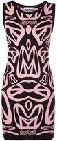 Moschino peace sign knit dress