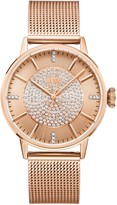 JBW Women's Belle 18K Rose Gold Plated Stainless Steel Diamond Watch, 36mm - 0.12 ctw