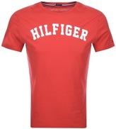 Tommy Hilfiger Logo T Shirt Red