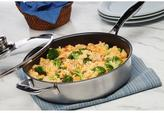 Swiss Diamond Nonstick Clad 4.2 qt. Nonstick Saute Pan with Lid