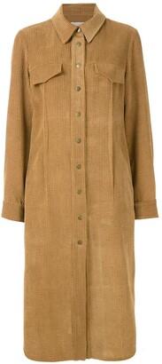Alcaçuz Roteiro long sleeves shirt dress