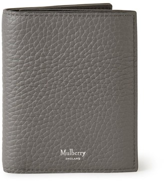 Mulberry Trifold Wallet Charcoal