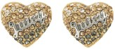 Juicy Couture Ombre Heart Stud Earrings