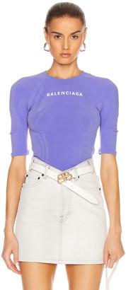 Balenciaga Athletic Top in Lilac | FWRD