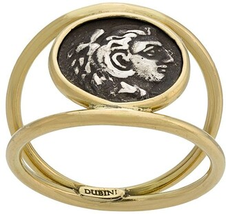 Dubini Alexander the Great Coin 18kt gold ring