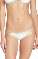 Luli Fama Women's Split Side Bikini Bottoms