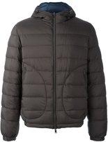 Herno padded bomber jacket - men - Polyamide/Polyurethane/Feather Down - 50
