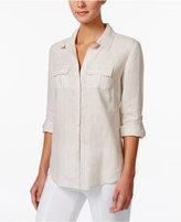 Charter Club Linen Shirt, Only at Macy's