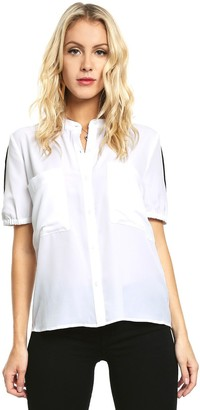 GUESS Women's Half Sleeve Anderson Shirt