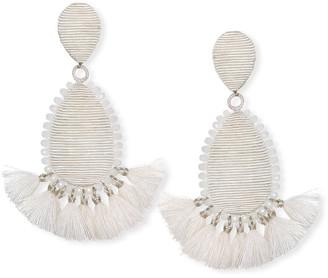 Suzanna Dai Exuma Tassel Teardrop Earrings