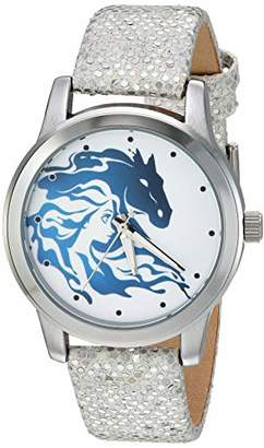 Disney Women's Frozen 2 Analog Quartz Watch with Patent Leather Strap