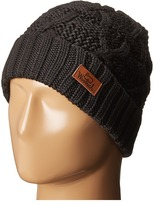 Woolrich Wool Blend Cable Knit Cuff Cap