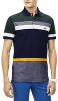 Lacoste Reg Fit Multi Co Stripe Polo