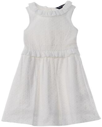 Brooks Brothers Ruffle Dress
