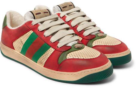 68f50bb8e0b Gucci Red Men s Sneakers