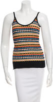 M Missoni Patterned Knit Top
