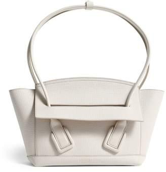 Bottega Veneta Leather Arco 33 Top-Handle Bag