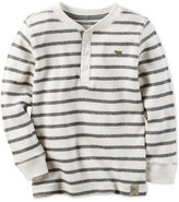 Carter's Striped Thermal Shirt, Little Boys (2-7)