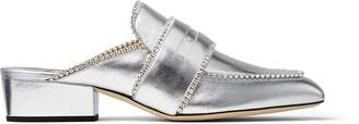 Jimmy Choo YK-Bloafer 35 Leather Loafers