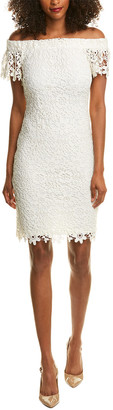 Bebe Lace Sheath Dress
