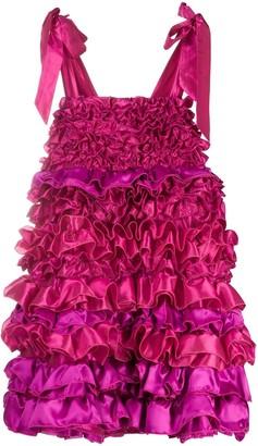 Loulou Ruffled Mini Dress
