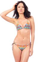 Voda Swim Majorca Envy Push Up String Bikini Top