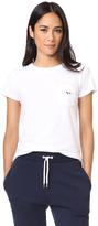 MAISON KITSUNÉ Tricolor Fox Patch Tee Shirt