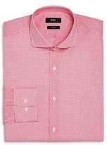 Boss Mini-Checked Slim Fit Dress Shirt