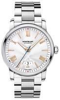 Montblanc 114852 4810 Date Bracelet Strap Watch, Silver