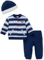 Little Me 3-Pc. Hat, Anchor Jacket & Pants Set, Baby Boys (0-24 months)