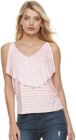 Juicy Couture Women's Ruffle Popover Tank