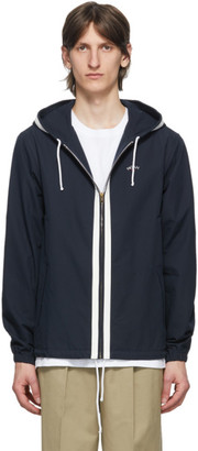 Noah NYC Navy Competition Stripe Jacket