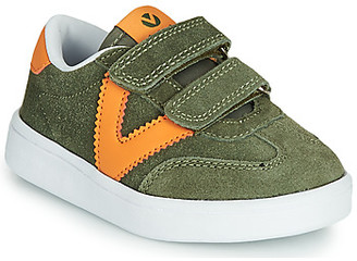 Victoria MILLAS VELCROS girls's Shoes (Trainers) in Green