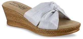 Easy Street Shoes Dinah Wedge Sandal