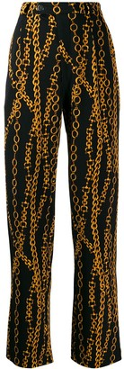 Roseanna Chain Print Trousers