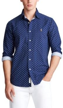 Polo Ralph Lauren Men's Classic-Fit Anchor-Print Shirt